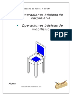Cuaderno de Trabajo Operaciones Básicas de Carpintería y Mobiliario