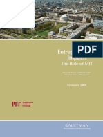 Entrepreneurial Impact the Role of MIT