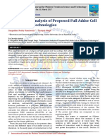Performance Analysis of Proposed Full Adder Cell at Submicron Technologies