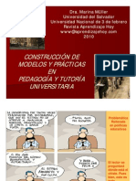 Conferencia tutor+¡as universitarias Dra. M++ller