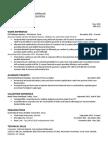 f mathew resume 02282017