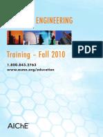 Fall AIChE Catalog