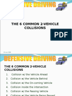 The Six Common 2-Vehicle Collisions