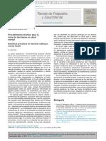 Procedimeinto Bioetico Dilemas Eticos en Salud Mental 10.1016@j.rpsm.2015.10.002