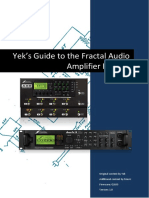 Fractal Audio Amp Models - The Guide v1.0