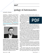 Krafft a. Ehricke - The Anthropology of Astronautics