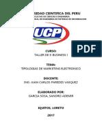 Universidad Cientifica Del Peru - Tipologia de Marketing