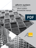 Alform System Formwork Procedures October 2016