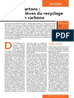 Recyclage de Papiers Et Cartons