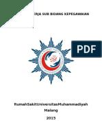 Program Kerja Bidang Kepegawaian