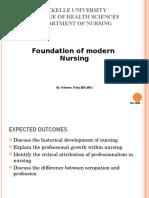 Chapter 1 Foundation of Modern Nursing