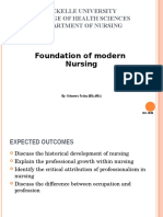 Chapter 1 Foundation of Modern Nursing
