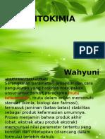 Parameter Fitokimia