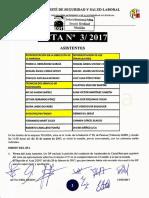 Acta 3/2017 Comité Autonómico Seguridad y Salud Laboral Tragsa UT 2