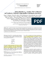 2008 Antagonists of the Human Adenosine A2A Receptor Part 1 Discovery and Synthesis of Thieno[3,2-d]Pyrimidine