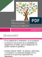 Antropología y Psicología Evolucionista