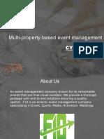 Multi-property Based Event Management