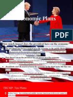 analysis of pres  economic plans