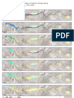 Geologic map of 5 decades of channel change on the Bill Williams River, Arizona