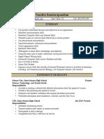 nandita sundarapandian resume