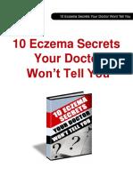 10 Eczema Secrets