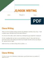 week 11 - chorus 2fhook writing