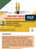 Kelompok 2 High Alert Medication