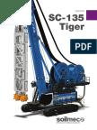 Soilmec SC -135 Tiger Hydromill Catalogue