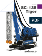 Soilmec SC -135 Tiger Hydromill Catalogue