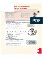 Short Directed Numbers Revision