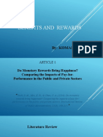Benefits and Rewards