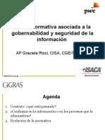 Nueva Normativa Asociada a La Gobernabilidad y Seguridad de La Informacioni