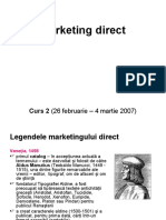 Marketing Direct - Curs 2
