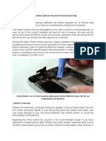 Quick Fix Your iPhone Home Button.docx