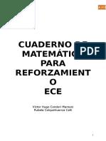 Cuaderno Matema Para Ece