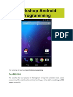 Workshop Android Programming