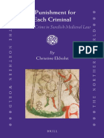 (Northern World 67) Christine Ekholst-A Punishment for Each Criminal_ Gender and Crime in Swedish Medieval Law-Brill Academic Publishers (2014)