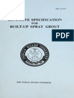 IRC 047.1972 Builtup SPray Grout