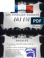 Les Voyelles Nasales