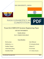 Lunabotics system engineering paper