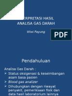 analisa gas darah Power Point