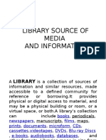 Library Source of Media. Chichinayyy.