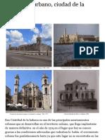 Desarrollo Urbano, Ciudad de La Habana