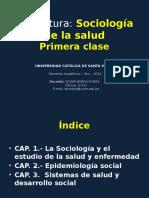Sociología de La Salud UCSM Primera-clase
