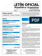 Boletín Oficial de la República Argentina, Número 33.598. 04 de abril de 2017