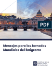 Papal Messages for the World Day of Migrants and Refugees Spanish