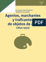 Agentes, Marchantes y Traficantes de Objetos de Arte (1850-1950) - Inmaculada Socías & Dimitra Gkozgkou