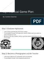 financial game plan project - caroline saechao