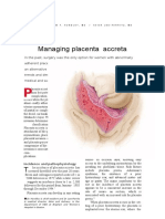 108867756 Management Placenta Accreta