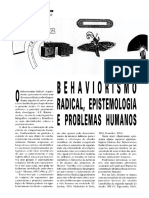 EPISTEMOLOGIA E BEHAVIORISMO RADICAL 1
